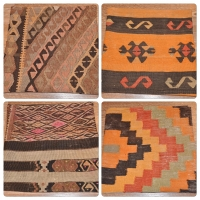 Kilim Cushion Covers, 40cm - 12