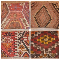 Kilim Cushion Covers, 40cm - 15