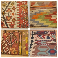 Kilim Cushion Covers, 40cm - 16