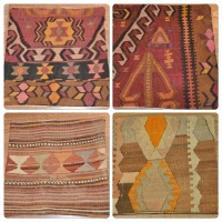 Kilim Cushion Covers, 40cm - 09