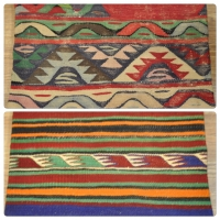 Kilim Cushion Covers, Lumbar -11