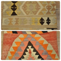 Kilim Cushion Covers, Lumbar -12