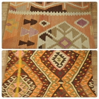 Kilim Cushion Covers, Lumbar -06