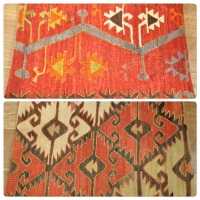 Kilim Cushion Covers, Lumbar -07