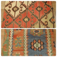 Kilim Cushion Covers, Lumbar -08