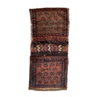 Afghan Irsari Turkmen Saddle Bag, 2699