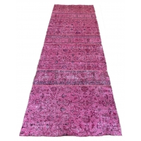 Overdyed Patchwork Runner, 2732