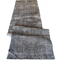 Overdyed Patchwork Runner, 2733