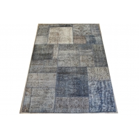 Overdyed Patchwork Rug, 2416