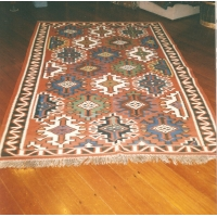 Antique Caucasian Kilim Rug, 235. SALE