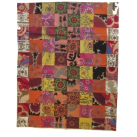 Antique Suzani Patchwork Quilt, 2125