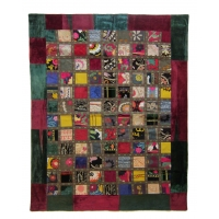 Antique Suzani Patchwork Quilt, 2127