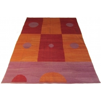Turkish Contemporary Kilim Rug, 2229
