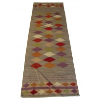 Turkish Contemporary Kilim Runner, 2236