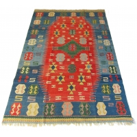 Turkish Kilim Rug, 2238