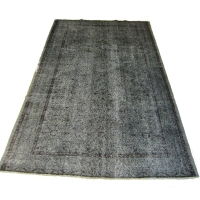 Overdyed Vintage Rug, 2265