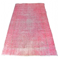 Overdyed Vintage Rug, 2296