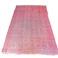 Overdyed Vintage Rug, 2297