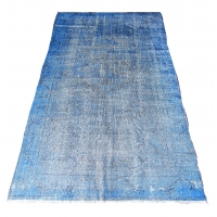 Overdyed Vintage Rug, 2301
