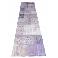 Overdyed Patchwork Runner, 2330