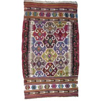 Anatolian Semi Old Kilim Rug, 1310. SALE