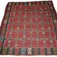 Antique Sarkoy Kilim Rug, 1992