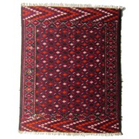 Semi Old Turkoman  Kilim, 2141